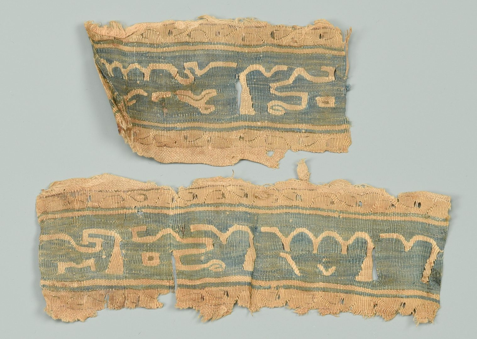 Lot 553: 5 Early Tapestry Items, including Coptic