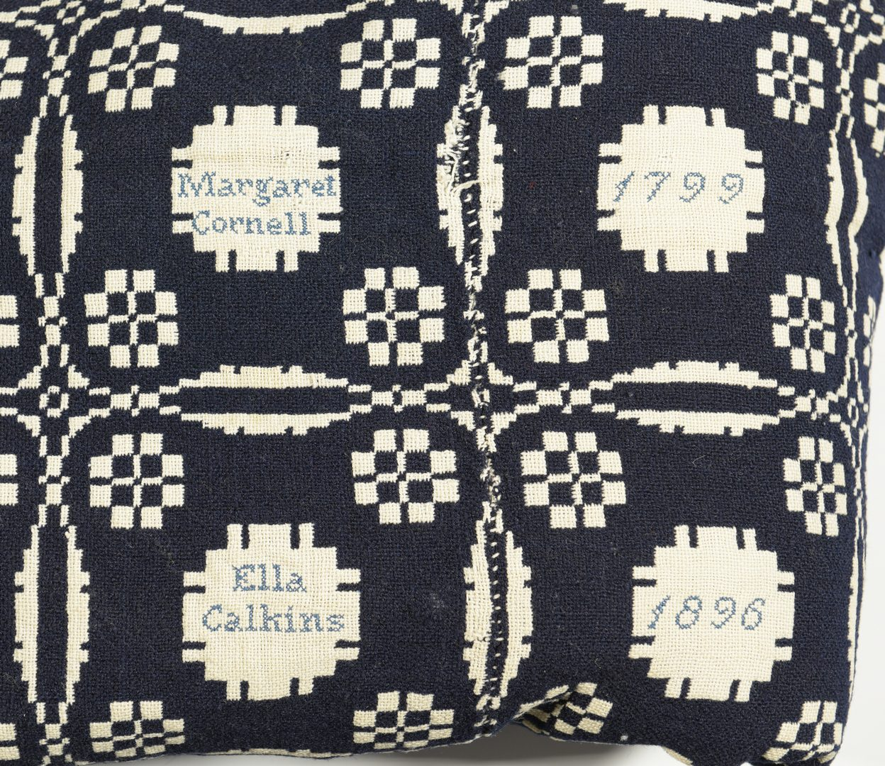 Lot 558: Southern Coverlets & Quilt Top, 6 items