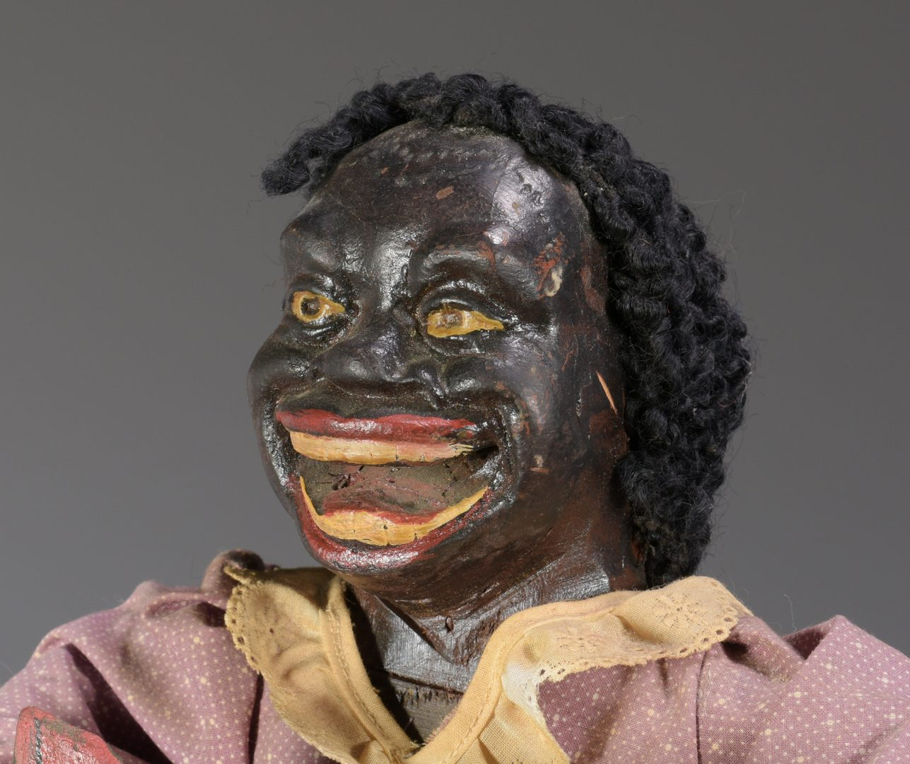 Lot 564: Black Americana Doll with Watermelon