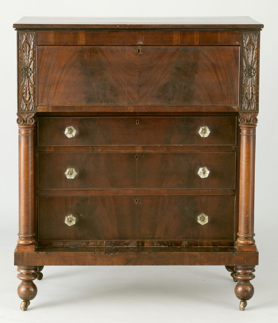 Lot 572: Classical Desk, Devon Farm history