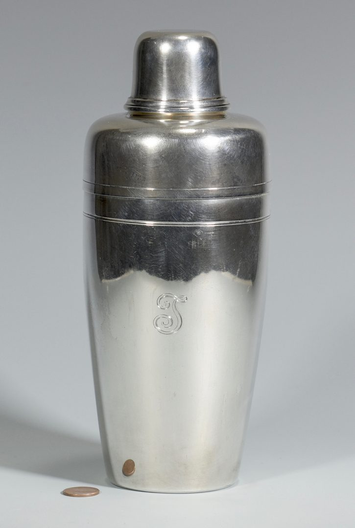 Lot 57: Tiffany Sterling Cocktail Shaker