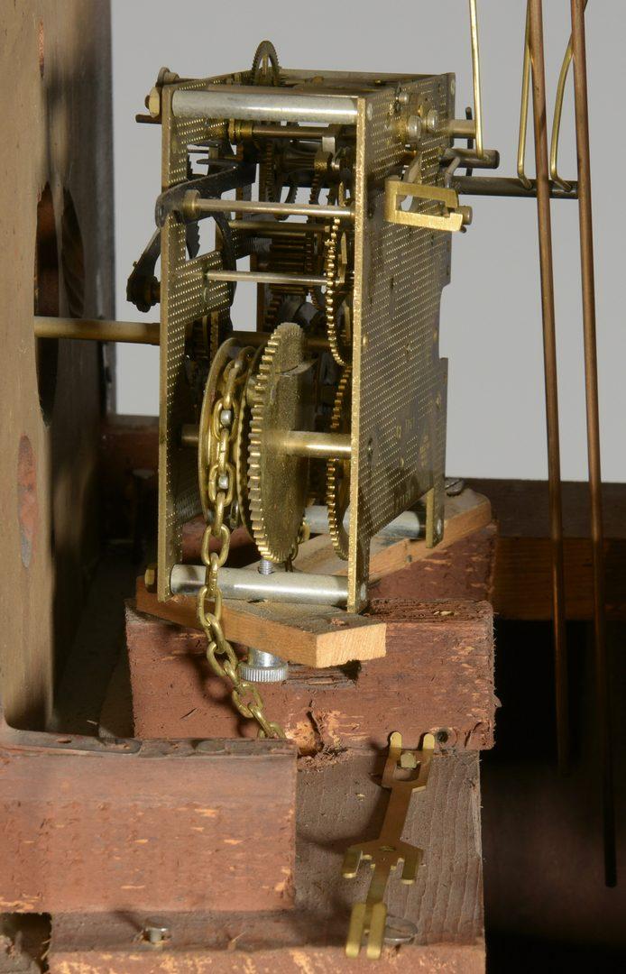 Lot 580: American Tall Case Clock, Luman Watson Dial