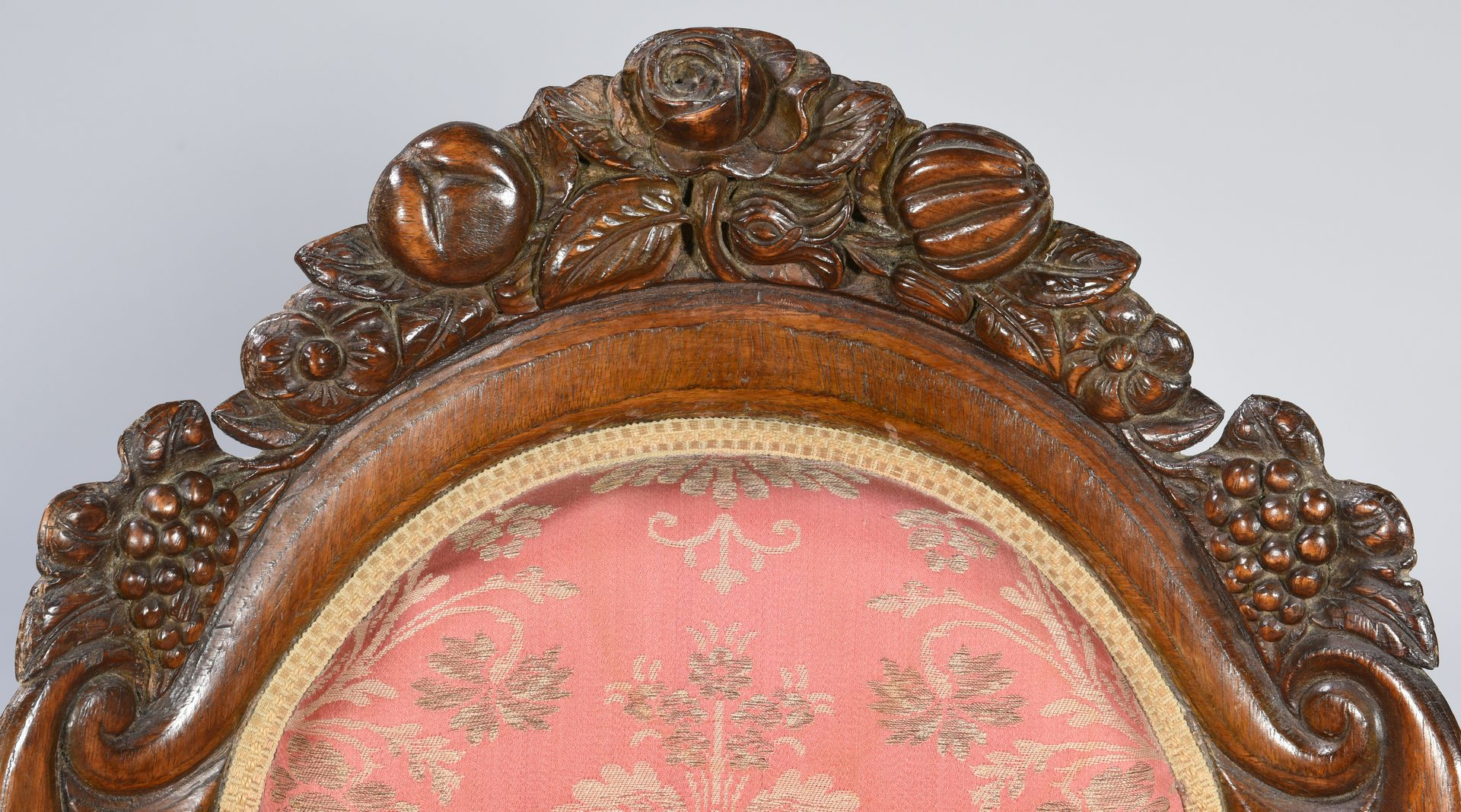 Lot 584: Pair Rococo Revival Chairs, attr. Belter