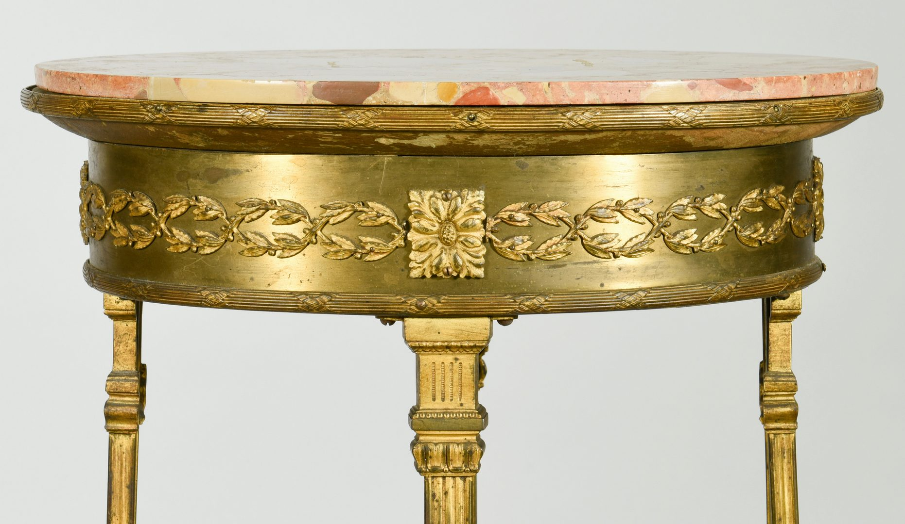 Lot 590: French Giltwood Pedestal or Plant Stand