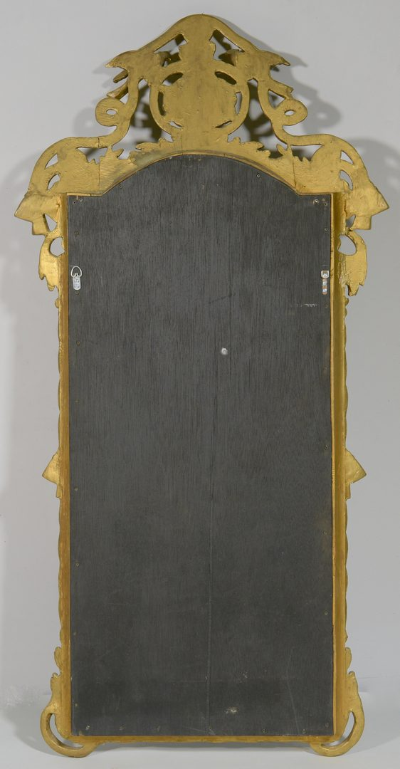 Lot 591: French Carved Gilt Wall Mirror