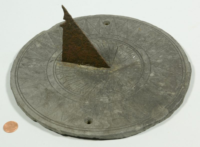 Lot 603: Antique Garden Sundial