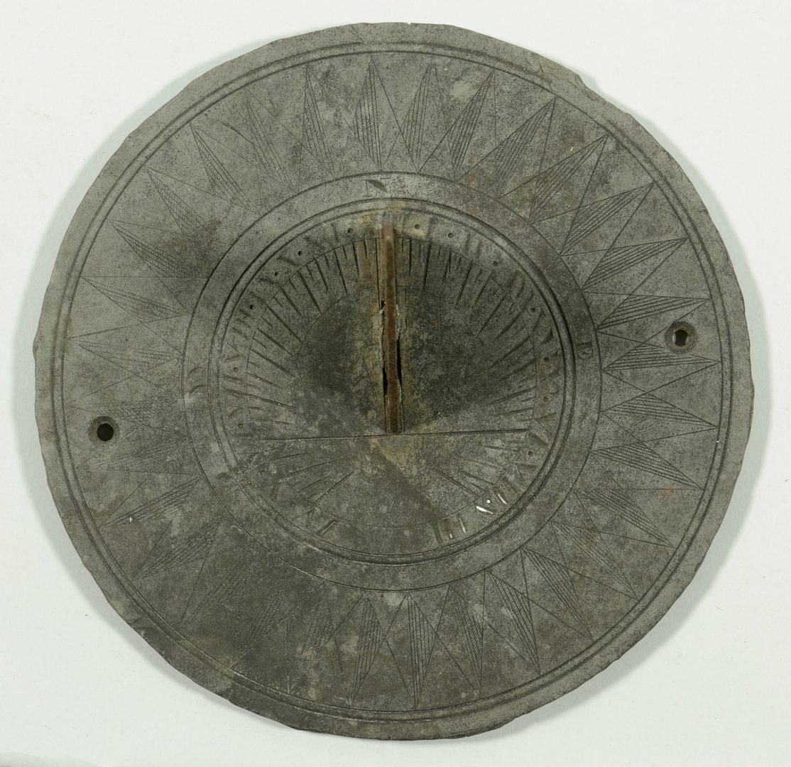 Lot 603: Antique Garden Sundial