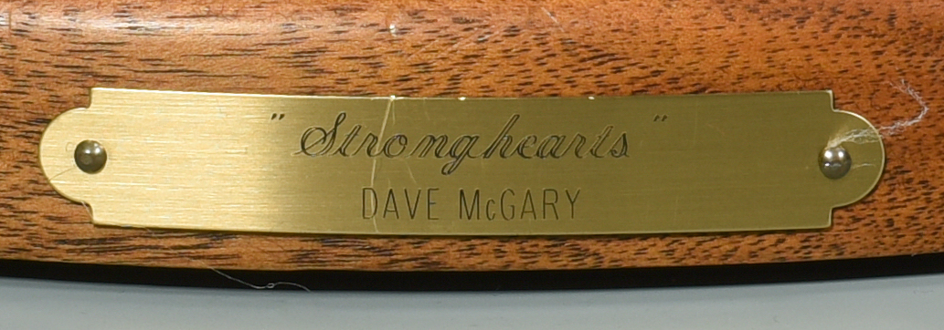 Lot 609: Dave McGary Bronze Sculpture, Stronghearts