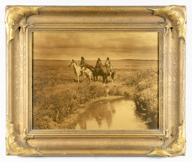 Lot 611: Edward Curtis Orotone, Three Chiefs