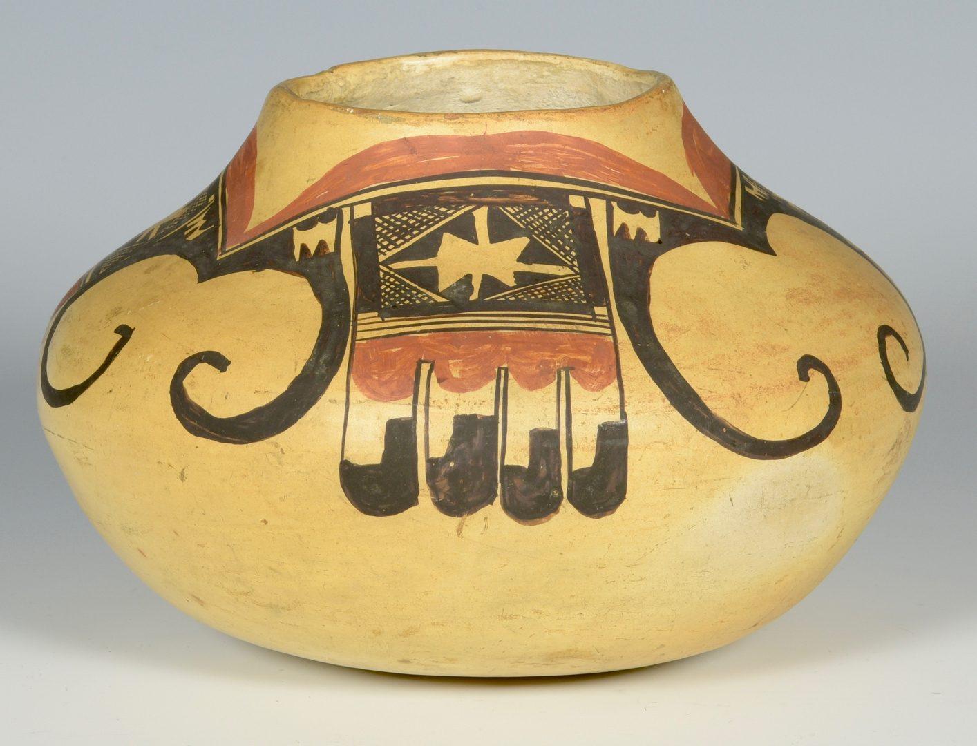 Lot 622: 3 pcs Southwest Pottery