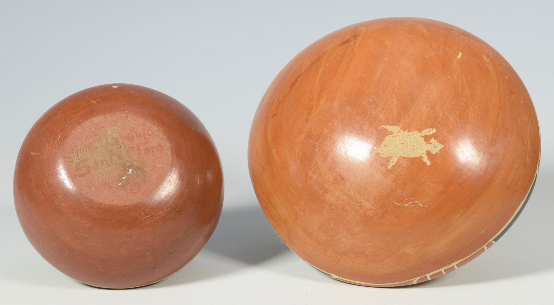 Lot 623: 4 pcs. Southwest Pottery, inc Naranjo