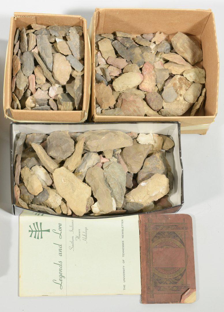 Lot 624: Native American Stone Artifacts, Devon Farm