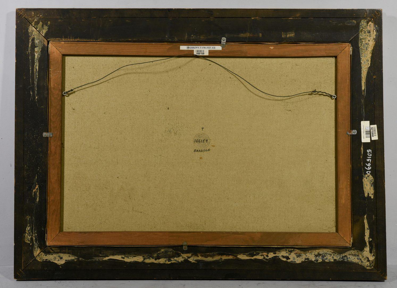 Lot 635:  Oil on Canvas Still Life signed Branson