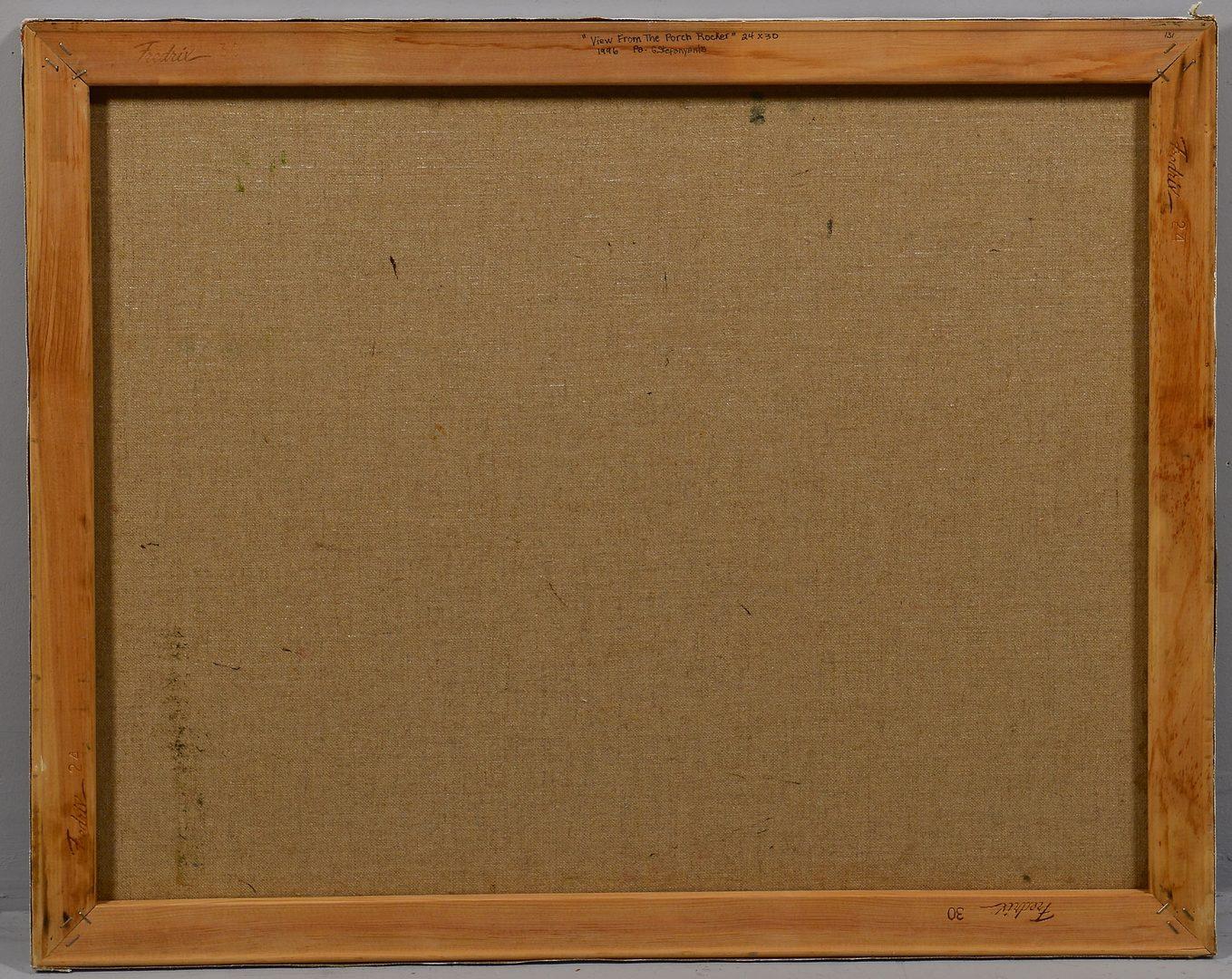 Lot 637: G. Stepanyants, oil on canvas, Landscape
