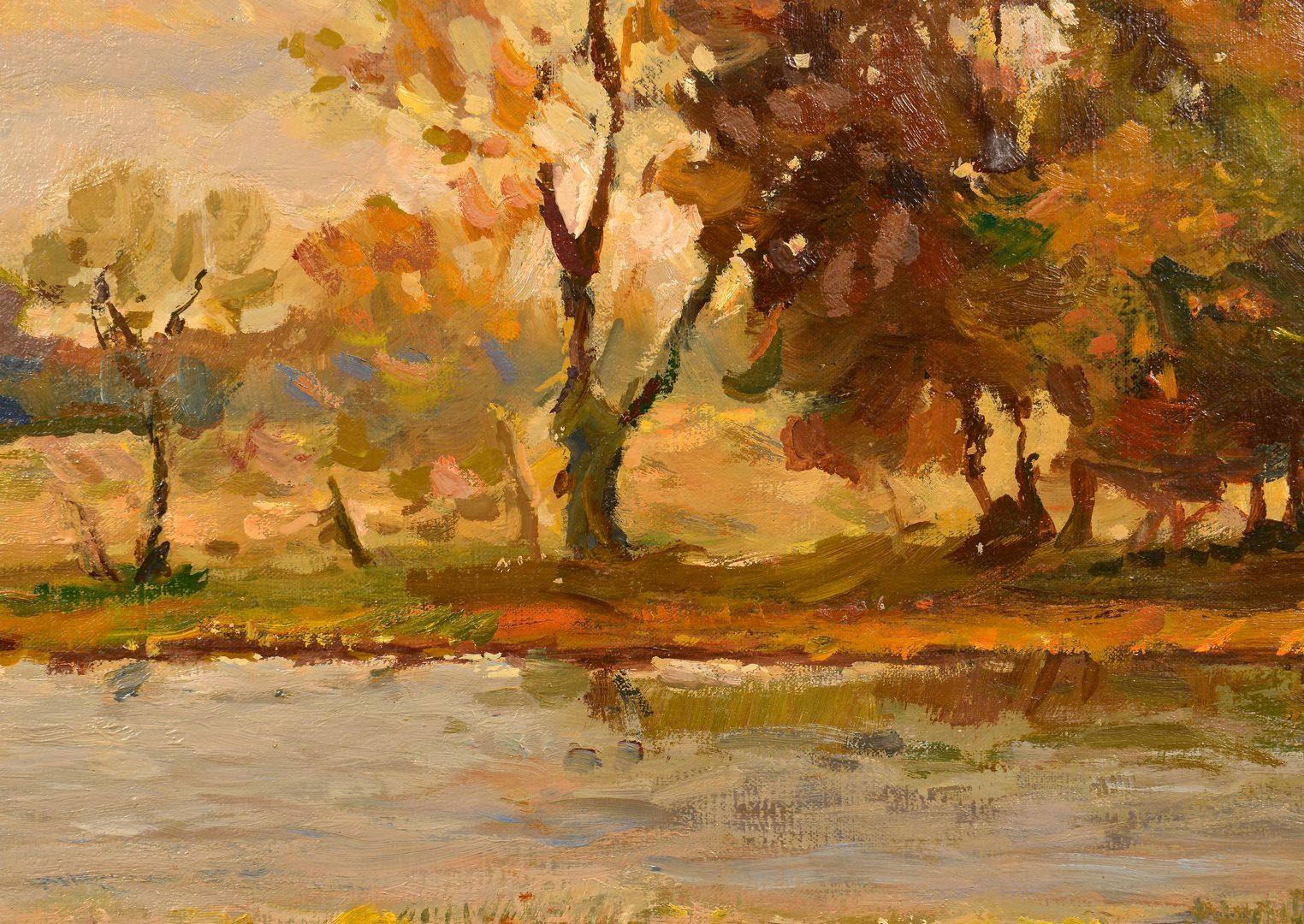 Lot 638: G. Stepanyants, oil on canvas, Landscape