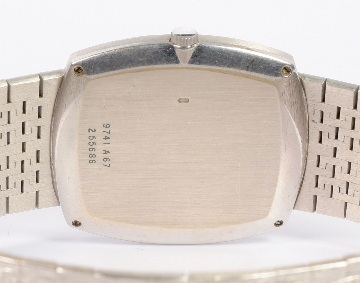 Lot 63: Gents 18K white gold Piaget Watch