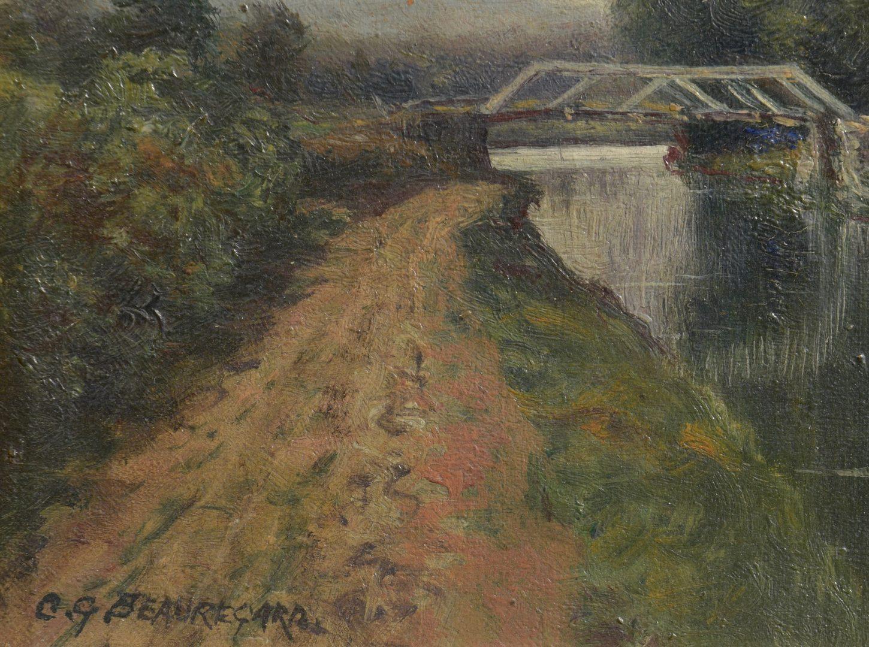 Lot 645: Charles Grant Beauregard O/C Landscape