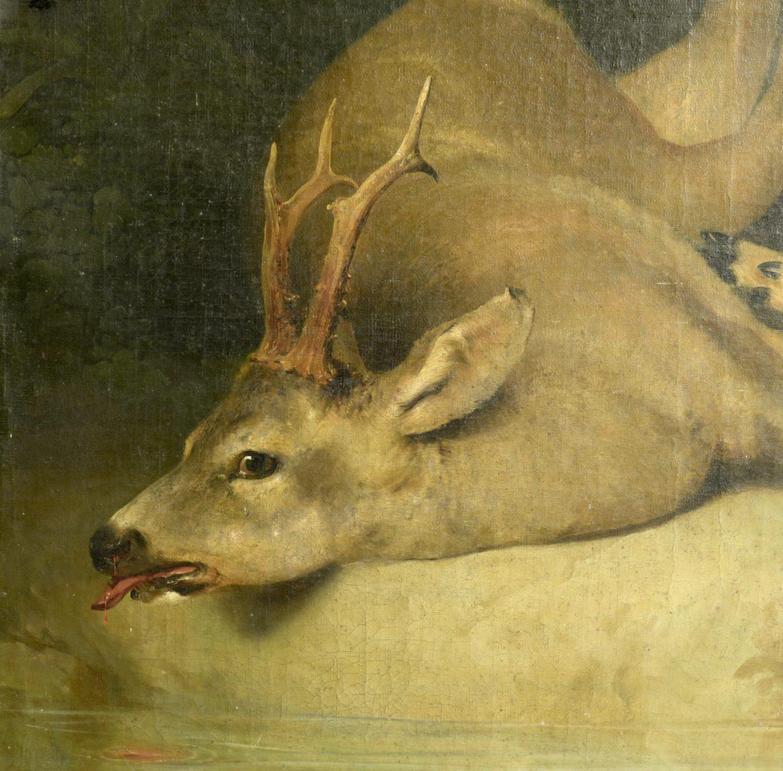 Lot 648: John Gadsby Chapman O/C, Slain Hart or Deer