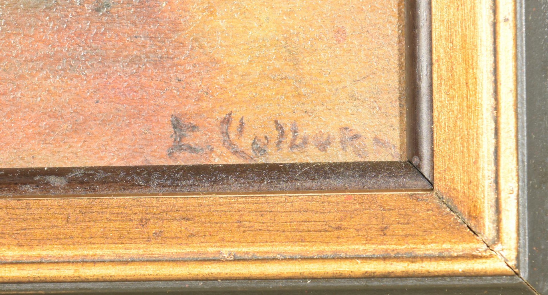 Lot 651: Elanor Colburn Oil on Board Still Life