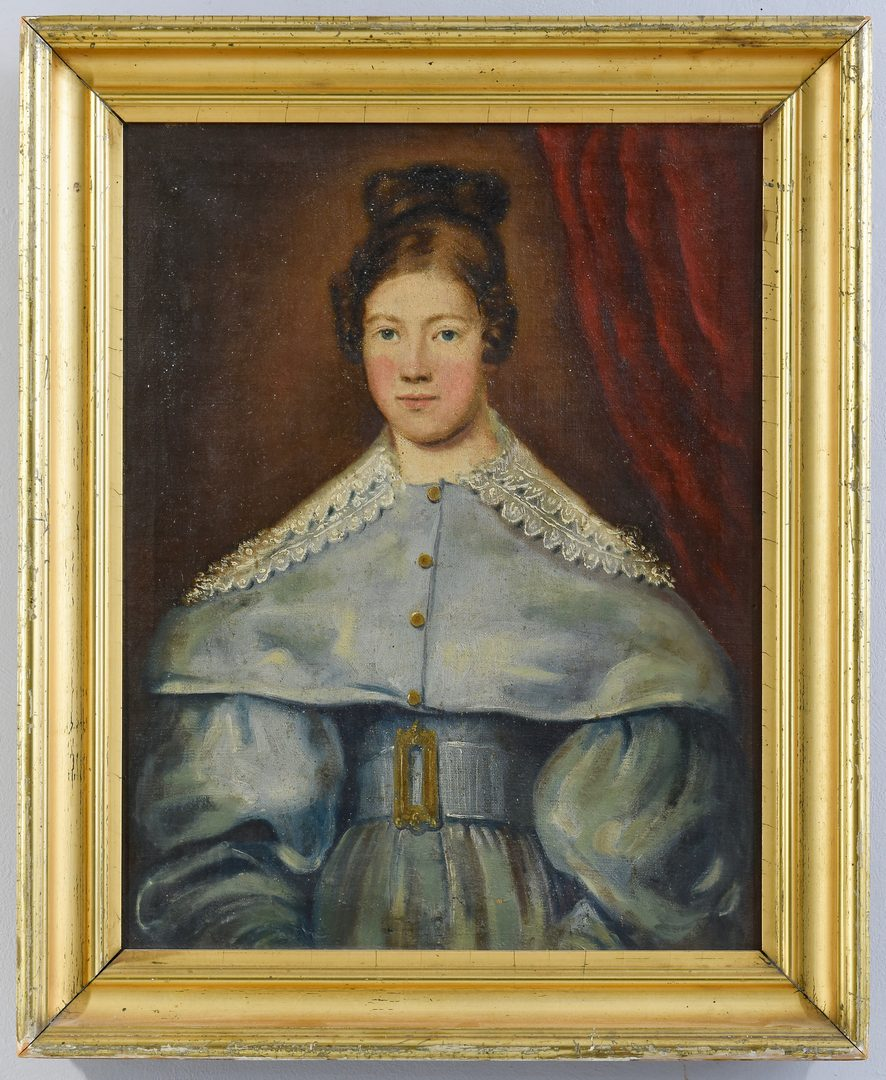 Lot 656: Continental Portrait of a Woman