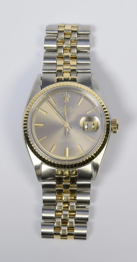 Lot 65: Mens Rolex Oyster Perpetual Datejust Wristwatch
