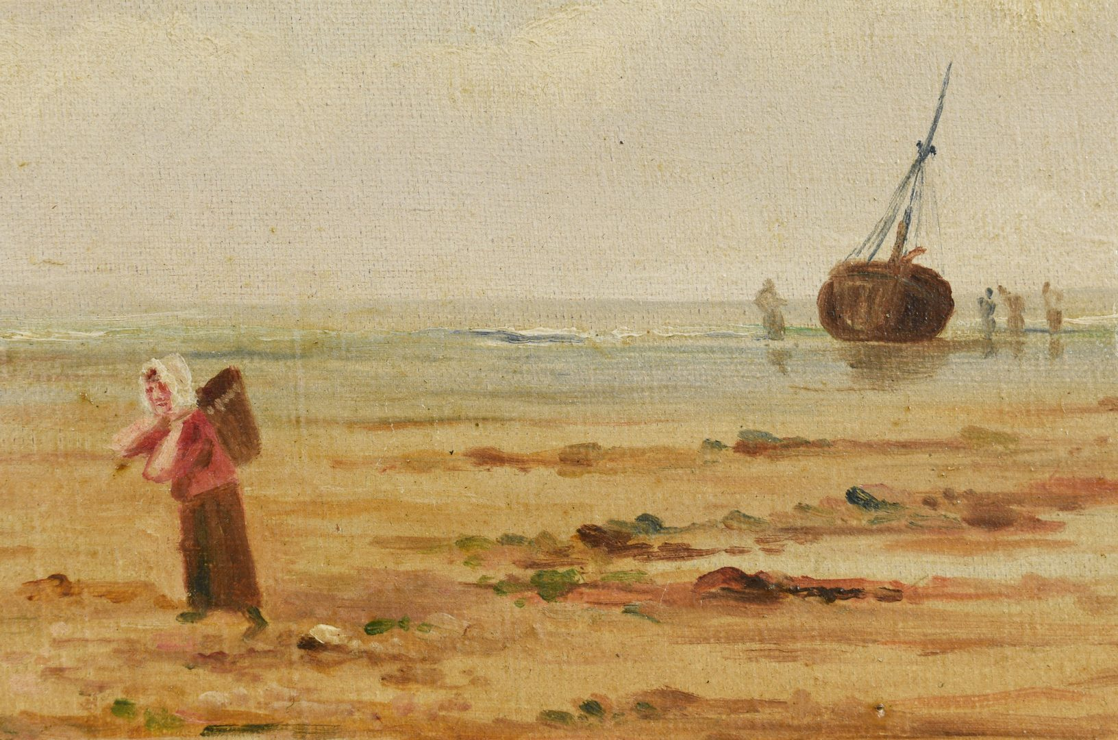 Lot 661: Pair English Coastal Seascape Scenes