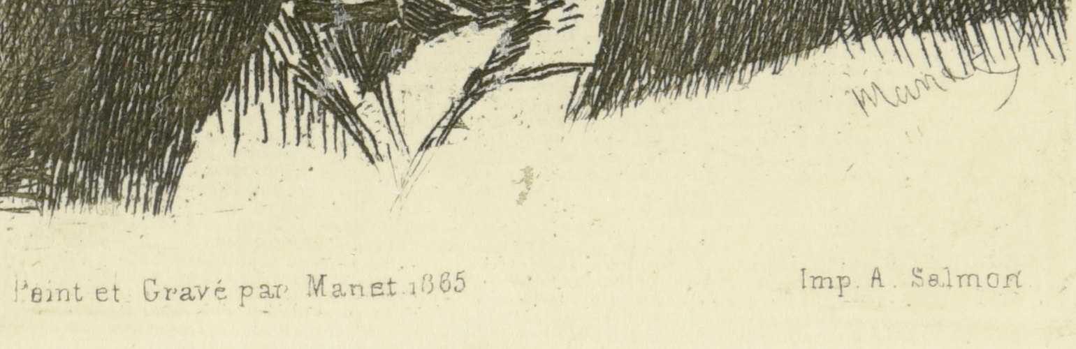 Lot 662: 2 Edouard Manet Etchings