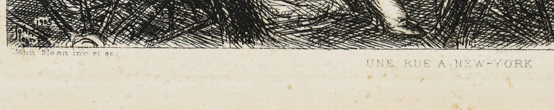 Lot 667: 3 Assorted Prints incl. Sloan