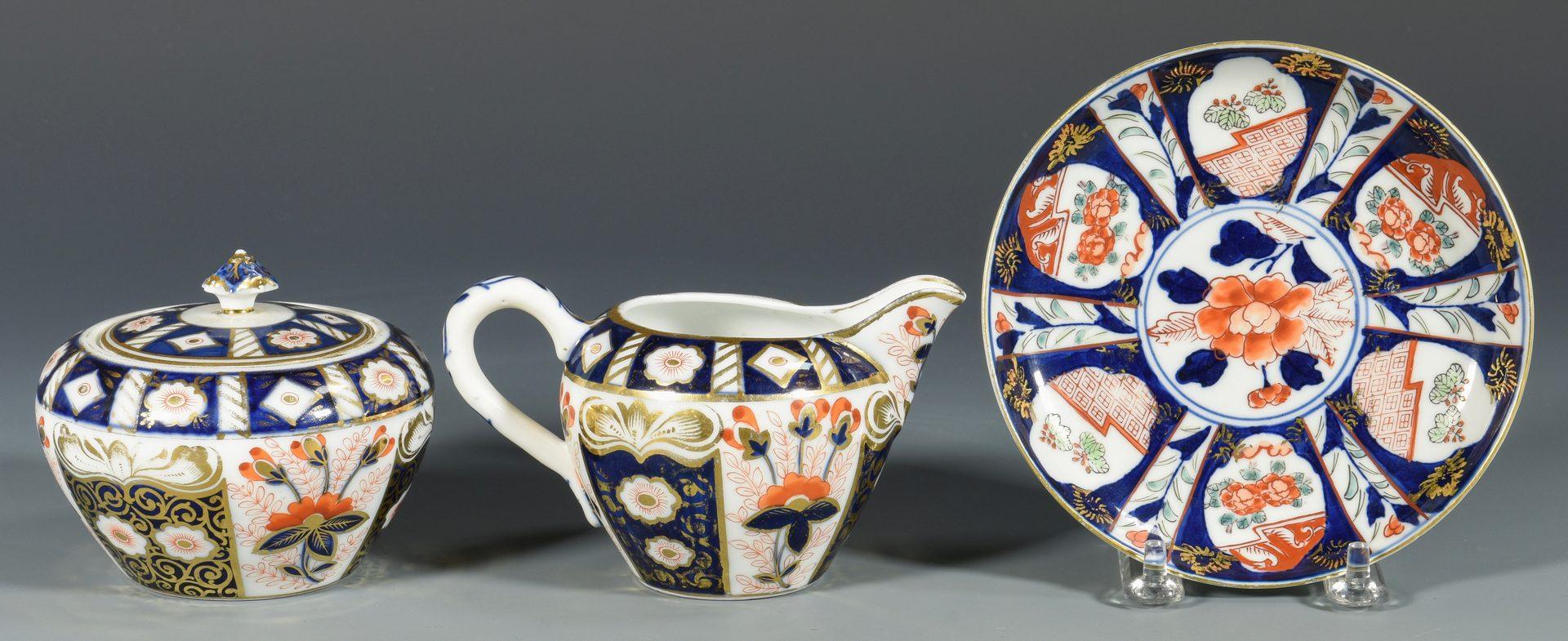 Lot 681: 13 pcs English Imari style Porcelain, 19th c.-early 20th c.