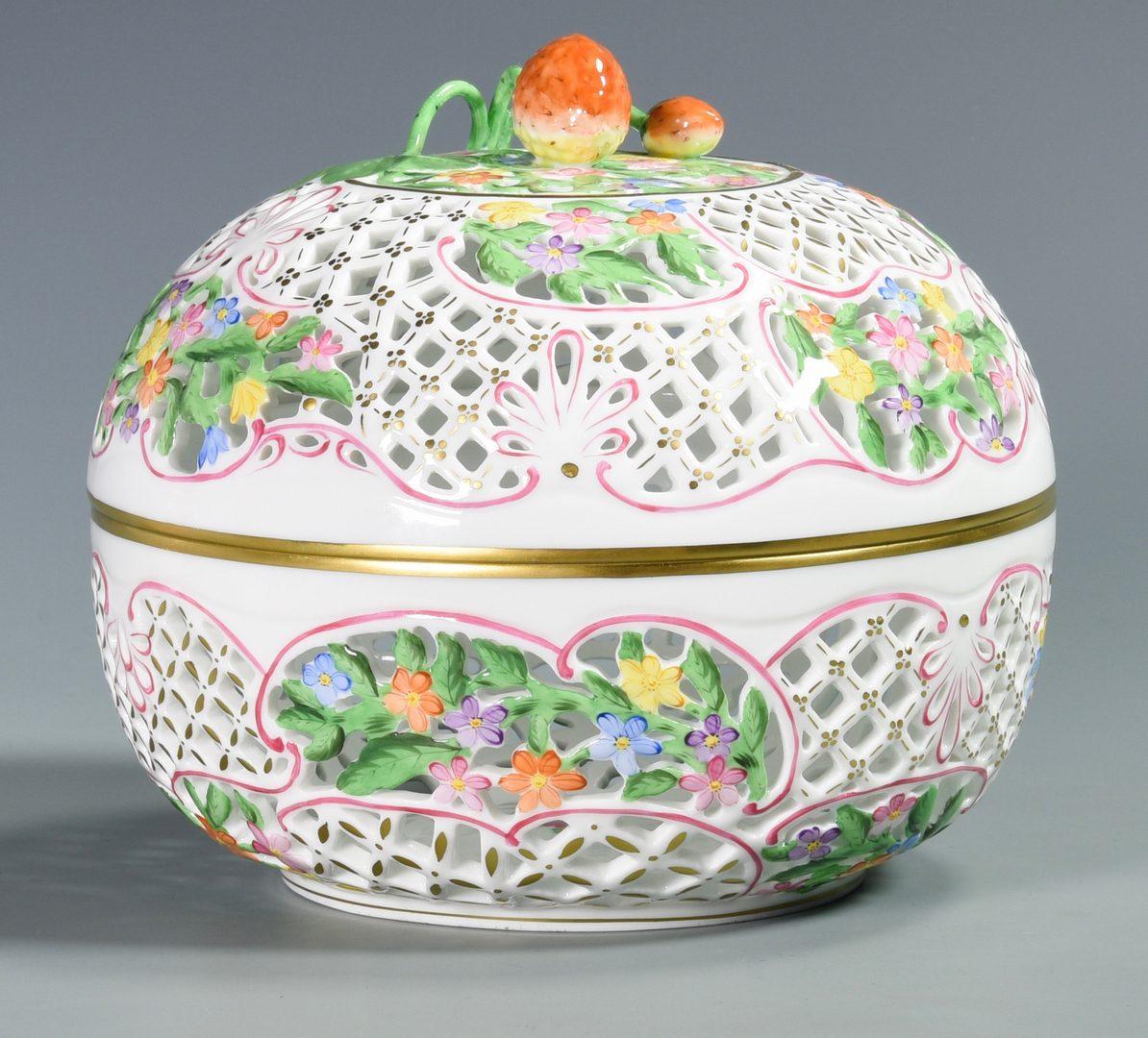 Lot 688: 4 Pcs. Herend Porcelain