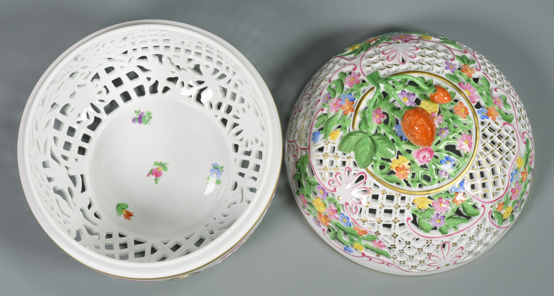 Lot 688: 4 Pcs. Herend Porcelain