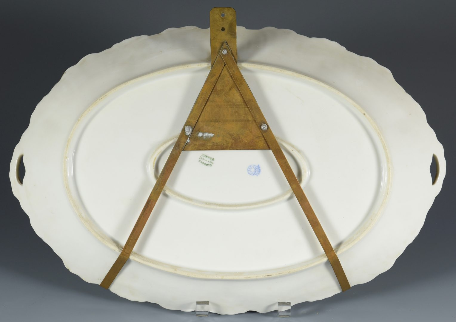 Lot 690: Limoges Game Dishes and platter