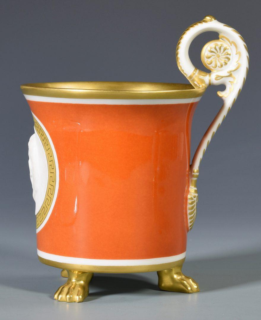 Lot 694:  KPM & Royal Vienna Cups w/ Saucers