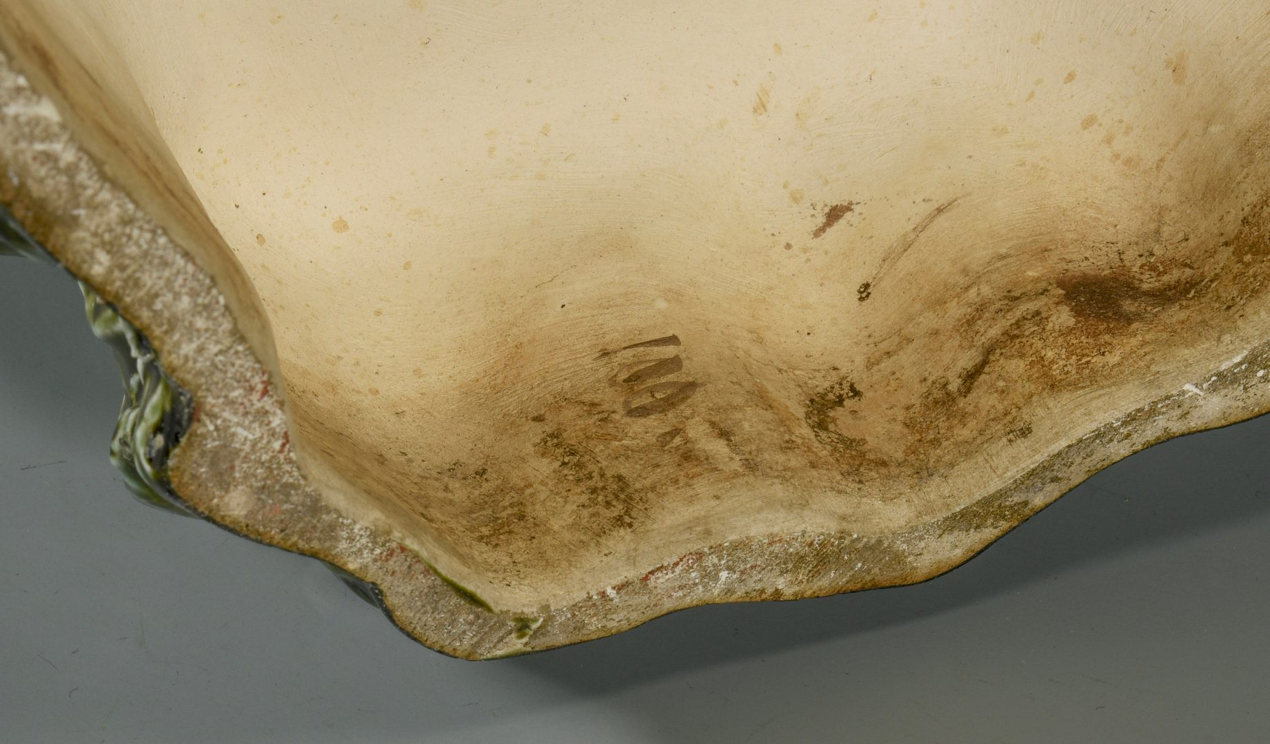 Lot 699: Majolica Blackamoor Floor Vase