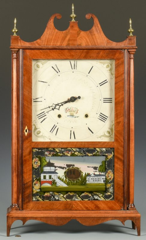 Lot 705: Seth Thomas Pillar & Scroll Mantel Clock #2