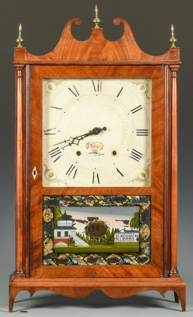 Lot 705: Seth Thomas Pillar & Scroll Mantel Clock #2