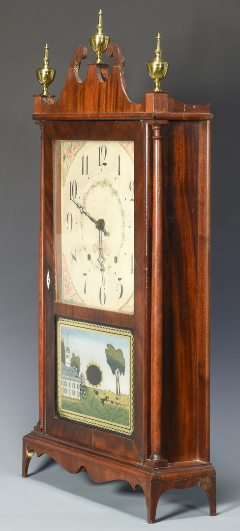 Antique Mantel Clocks >> Lot 706: Seth Thomas Pillar & Scroll Mantel Clock