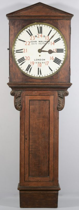 Lot 707: John Walker English Act of Parliament Clock