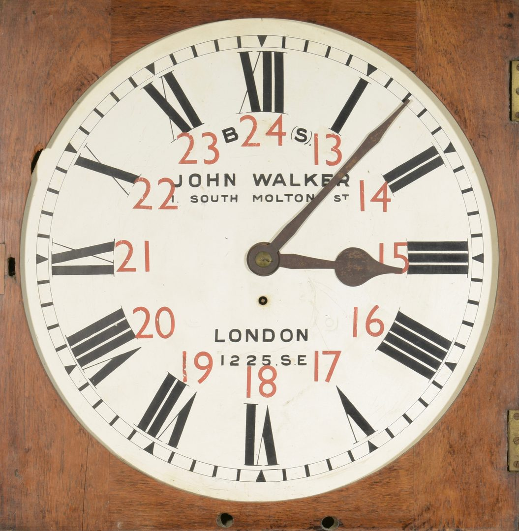 Lot 707: John Walker English Act of Parliament Clock