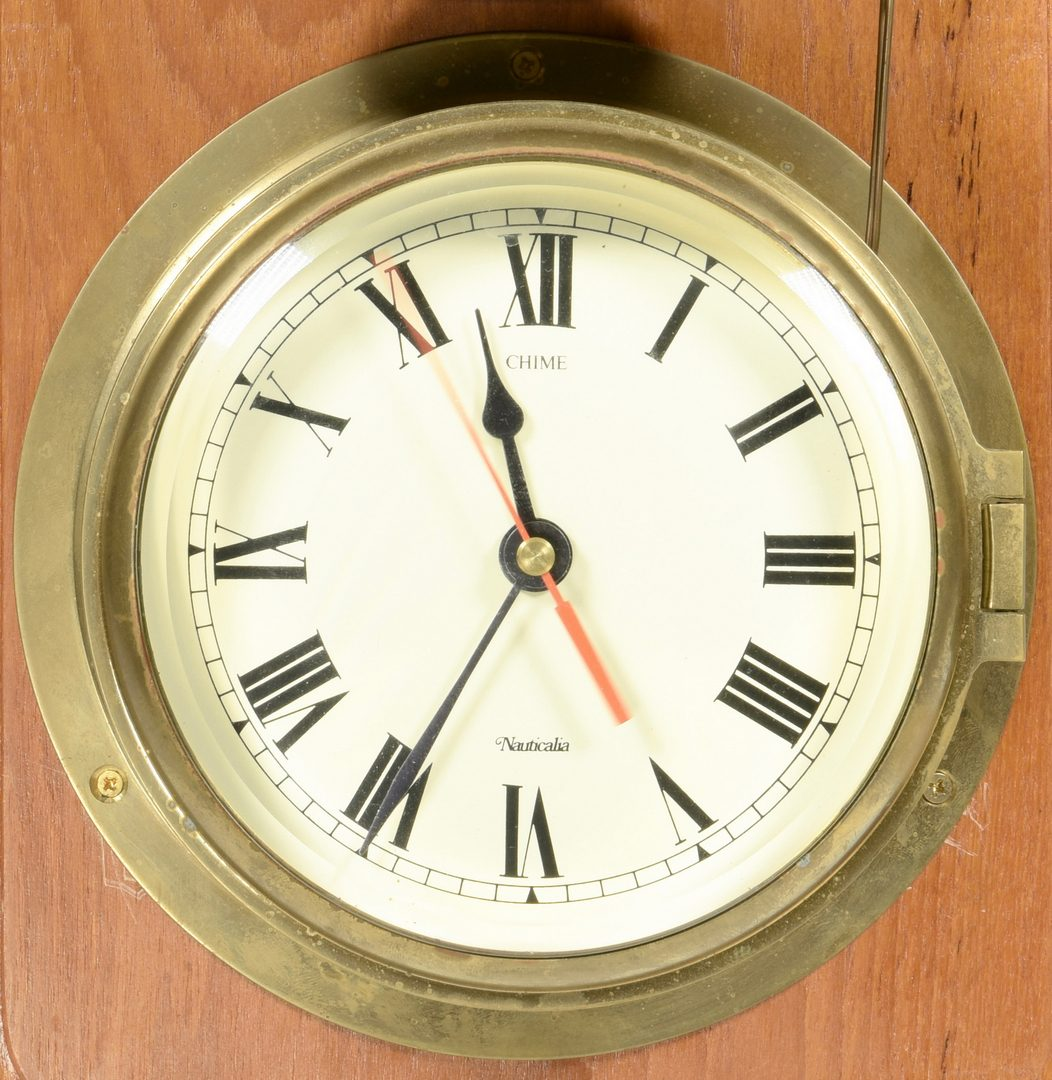 Lot 708: Nauticala Ship's Clock, Vistafjord