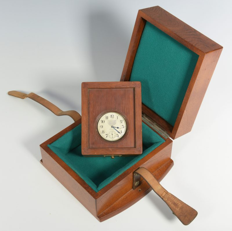 Lot 709: U.S. Navy Chronometer, Sterling Watch