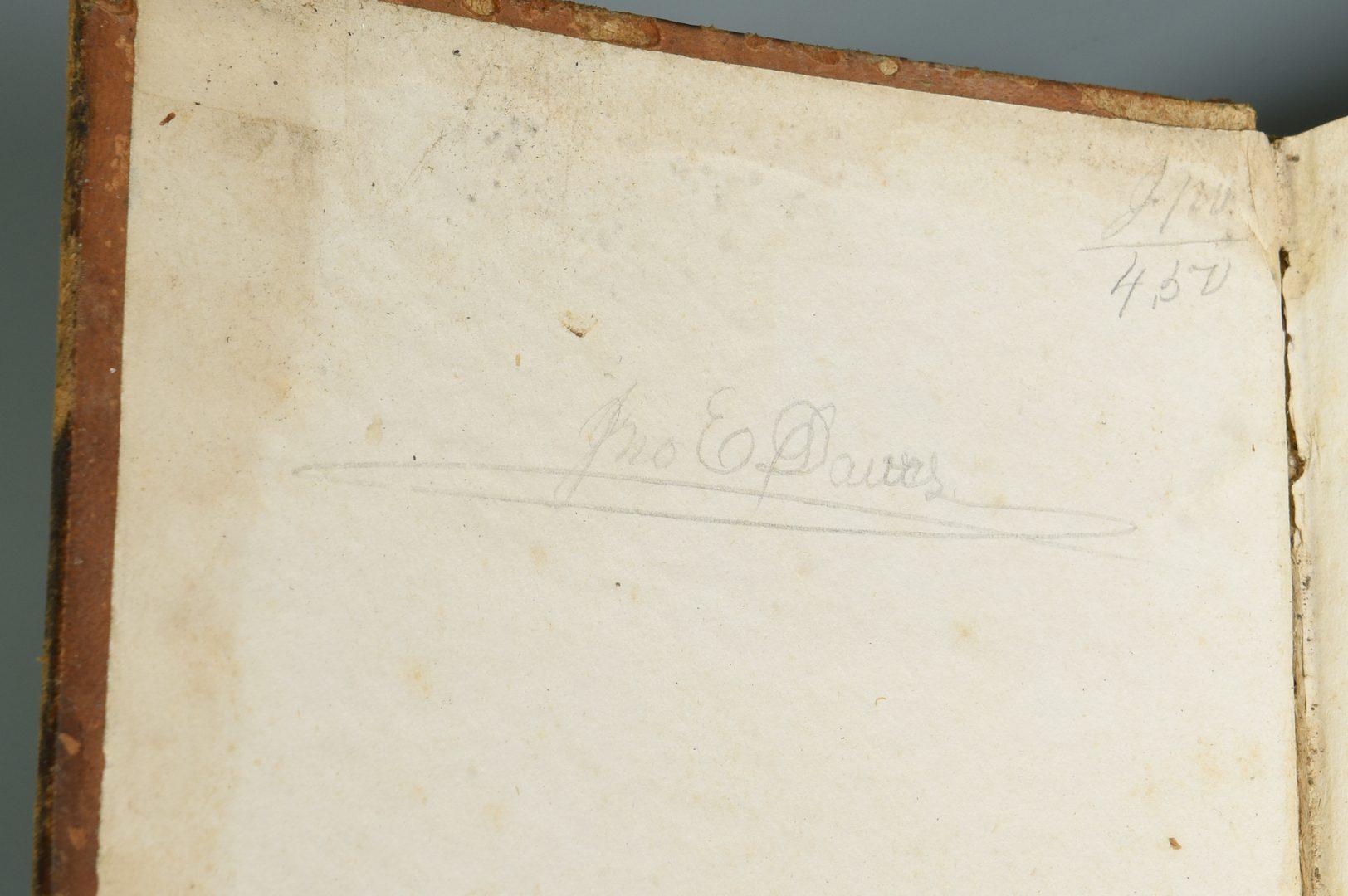 Lot 716: 1837 1st Ed. Dana's System of Mineralogy