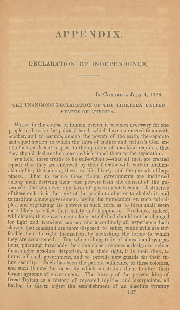Lot 719: 3 Declaration of Independence Printings
