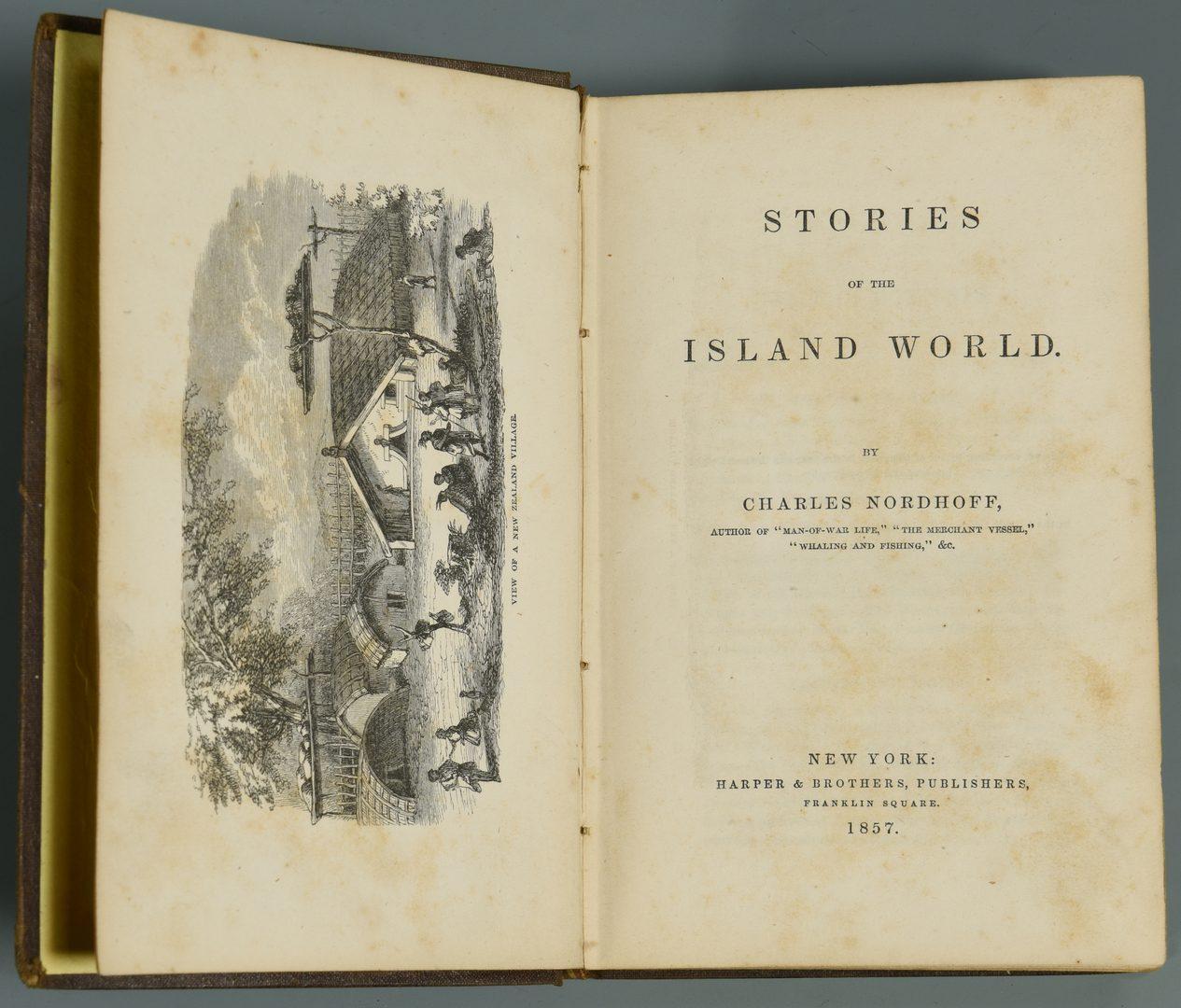 Lot 721: 3 books on Islands, Westward Expansion