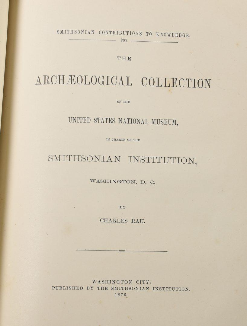 Lot 724:  3 TN History Books inc. Plan of Metro