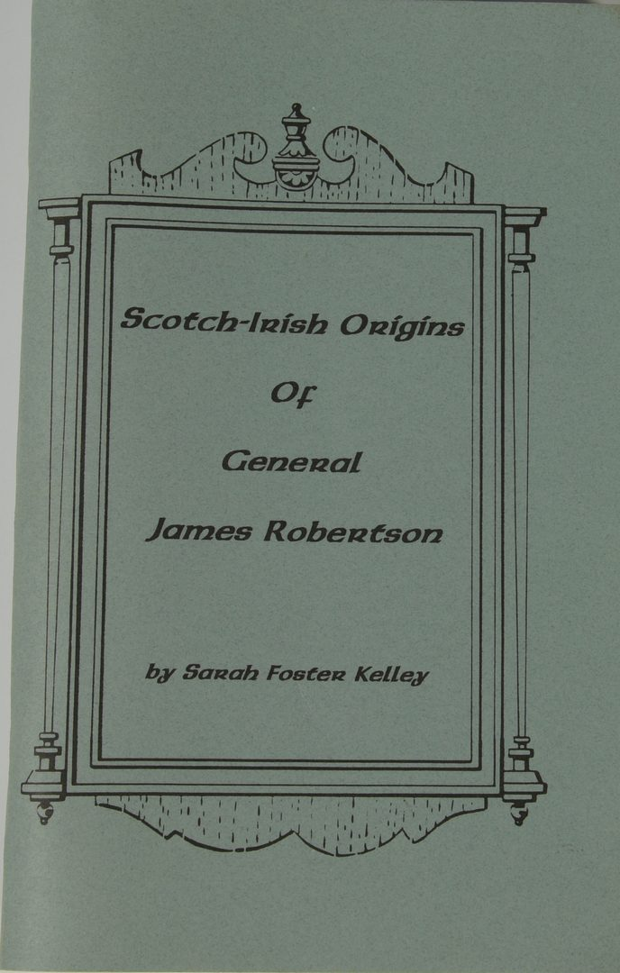 Lot 725: Gen. James Robertson family related lot