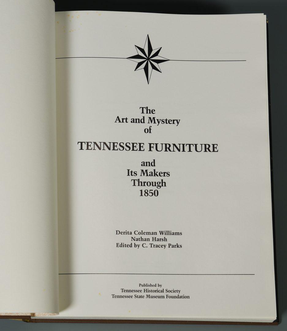 Lot 726: Book: Art & Mystery of TN Furniture