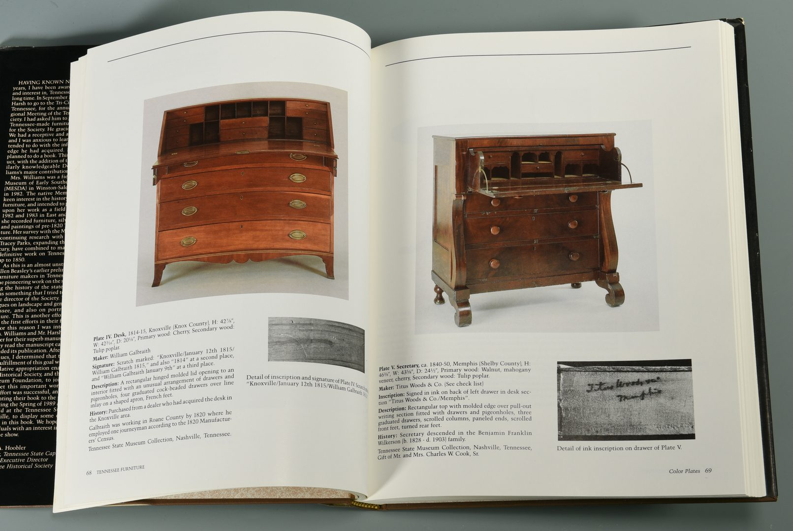 Lot 726: Book: Art & Mystery of TN Furniture