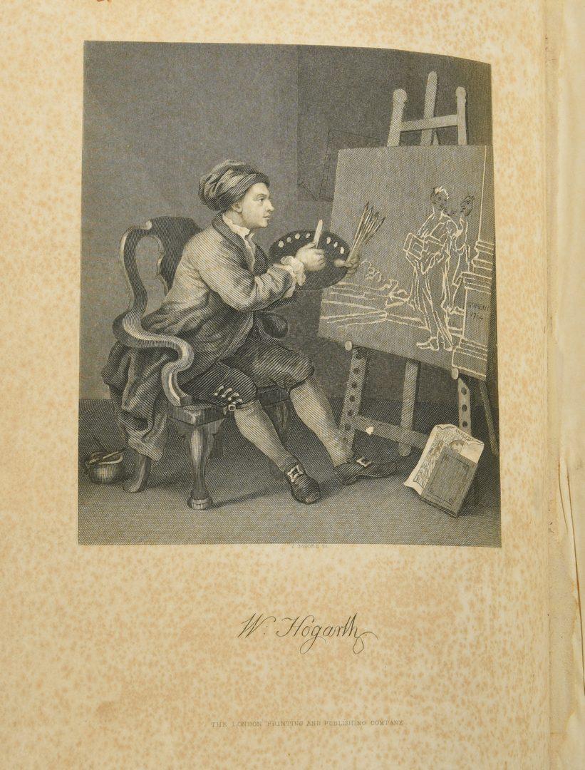 Lot 727: Works of William Hogarth c. 1870
