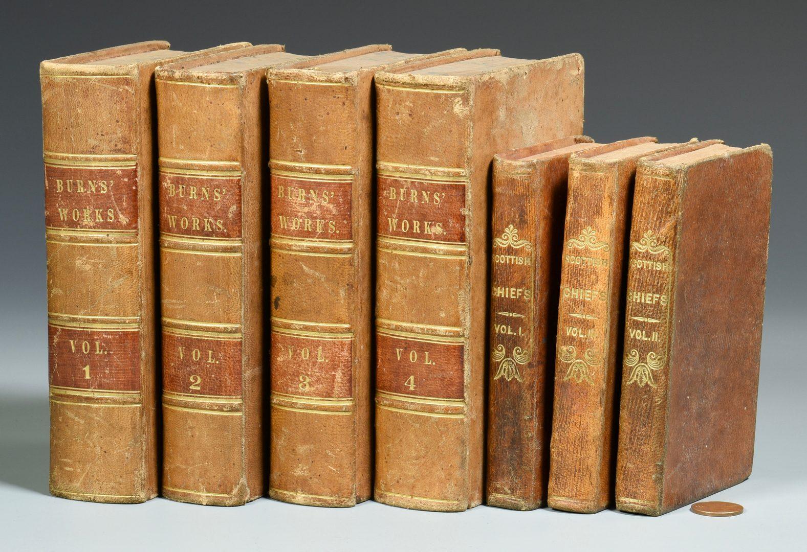Lot 729: 1834 Works of Robert Burns, Allan Cunningham